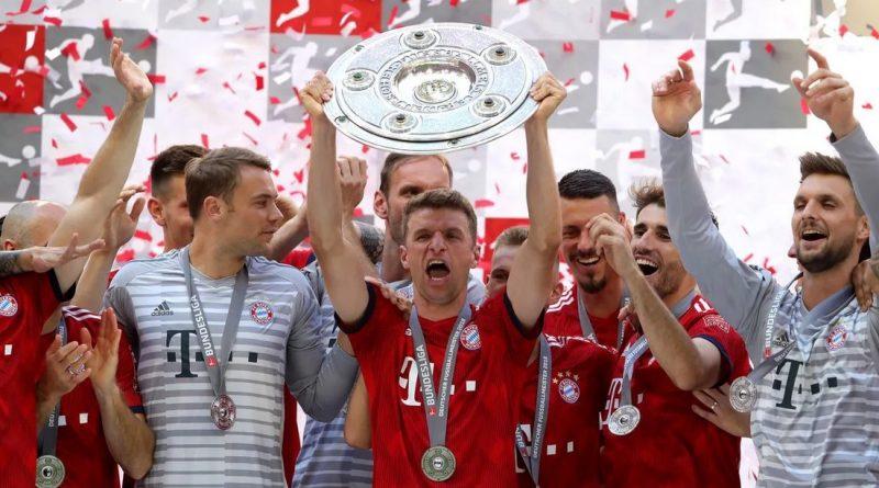 Победители Бундеслиги сезона 2017/18