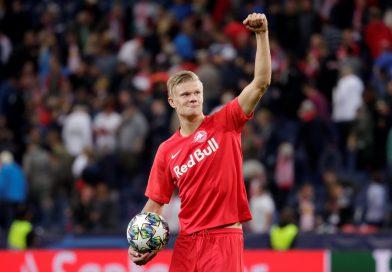 Эрлинг Холанд Во время одного из матчей